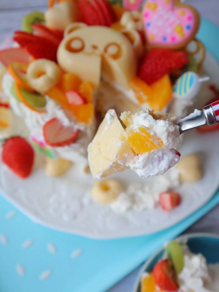 誕生日ケーキ 手作り 子供むけ