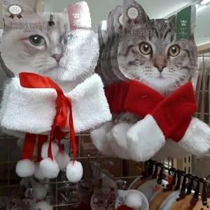 セリア クリスマス 犬猫