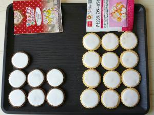 アイシングパウダー クッキー何枚