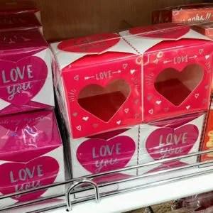 ダイソー バレンタイン 箱