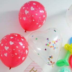 ダイソー 誕生日 風船