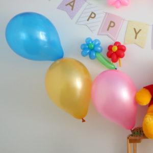 ダイソー 誕生日 バルーン