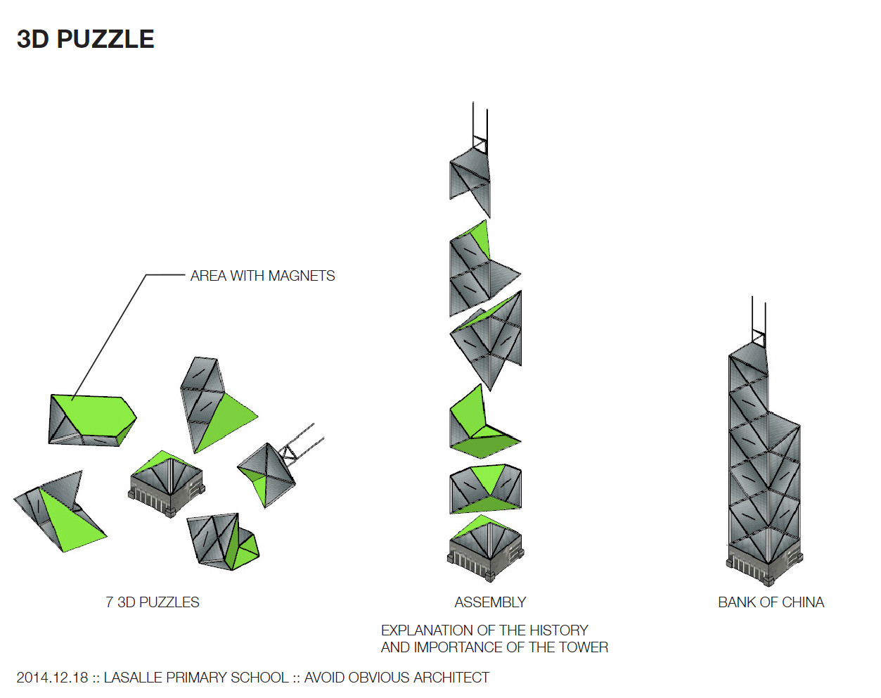 Buildings As 3d Puzzles