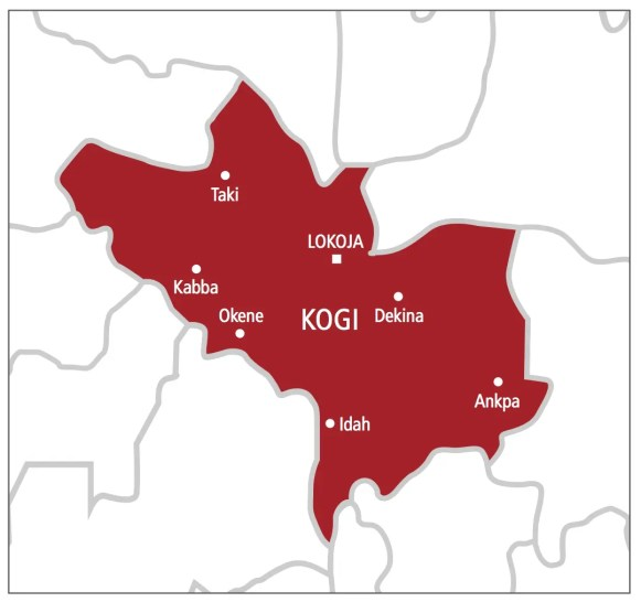 Image result for kogi state map in photos