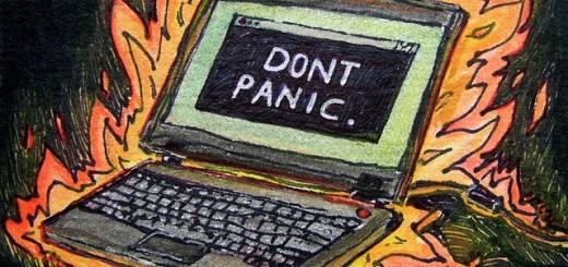Don't Panic by Sarabbit