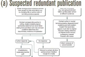 COPE - Committee on Publication Ethics - extract from a flowchart