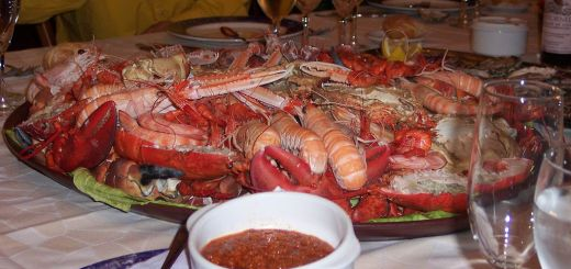 """An authentic """"Mariscada"""" from Galicia."""