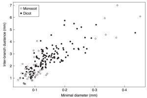 Fineness vs. density relationship.