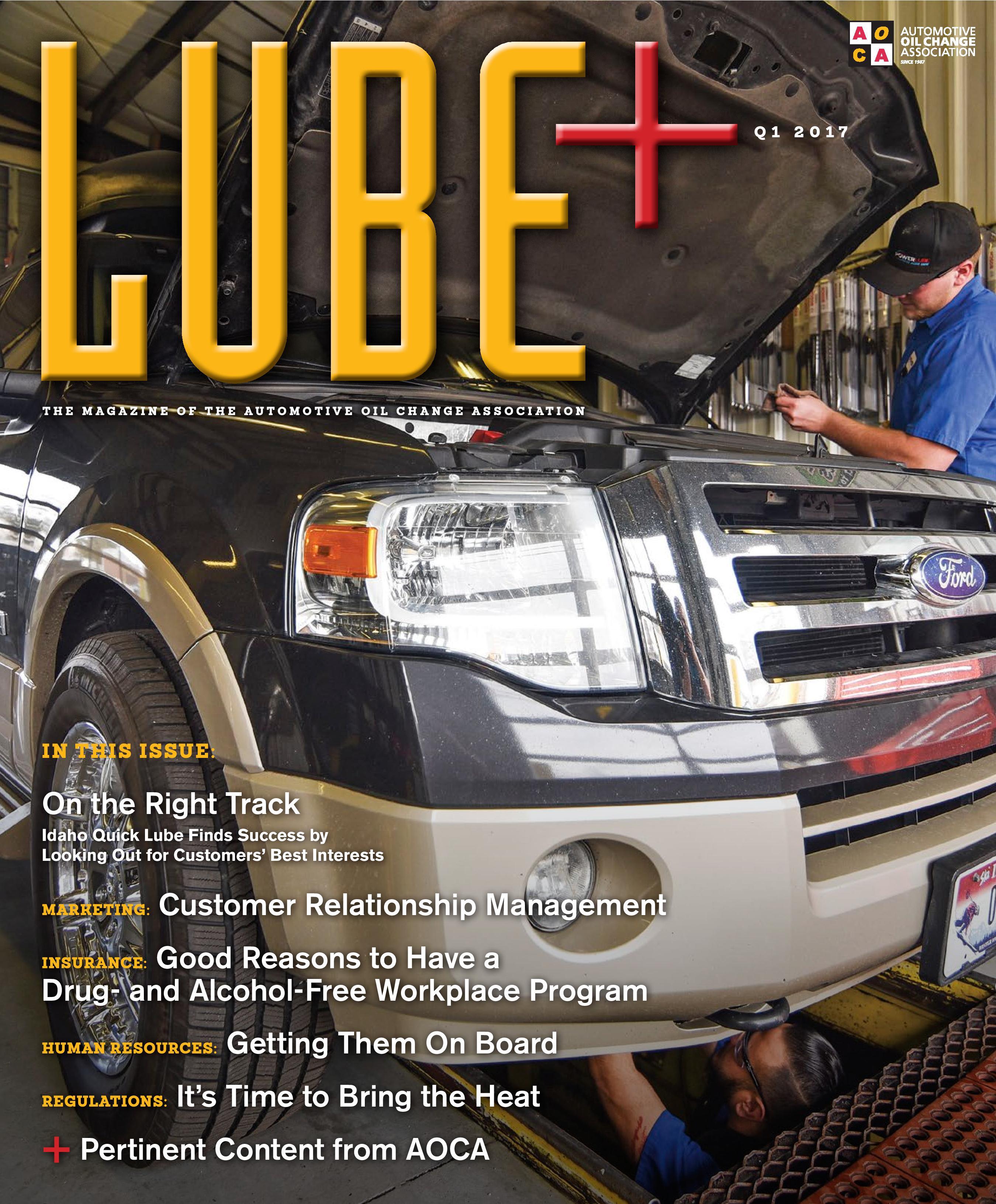 LUBE Automotive Oil Change Association