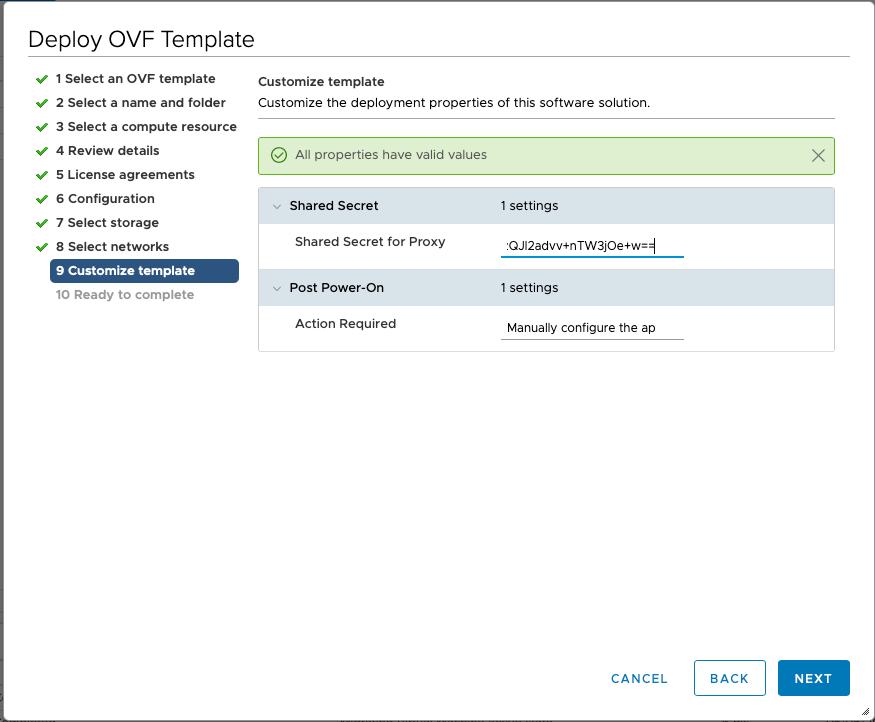 Proxy-with-secret-deployment