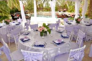 cinderella bridal shower view of the dinning tables designed by our talented event planning team