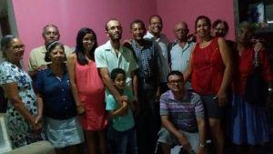 Irmãos do Quidé com família de ir Herbton