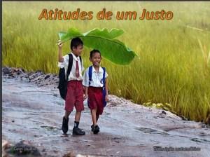ATITUDES DE UM JUSTO