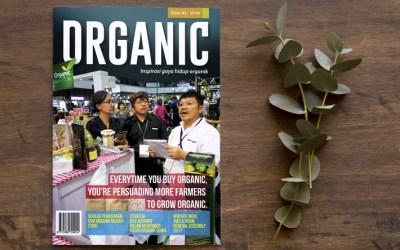 Telah terbit! Majalah ORGANIC – Edisi 45
