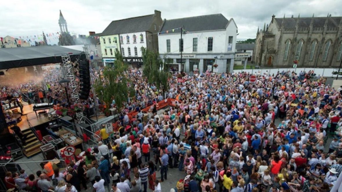Monaghan Town Country Music Festival (mid July)