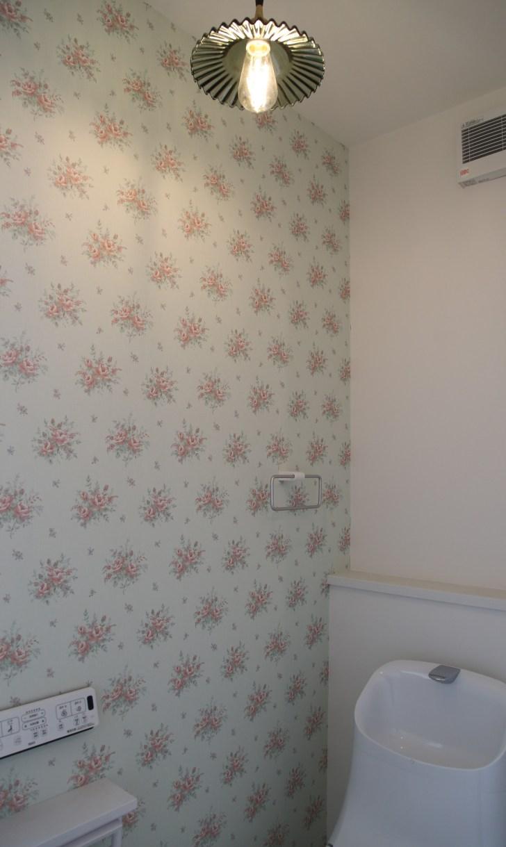 トイレもかわいらしく