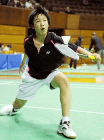 桃田賢斗15歳