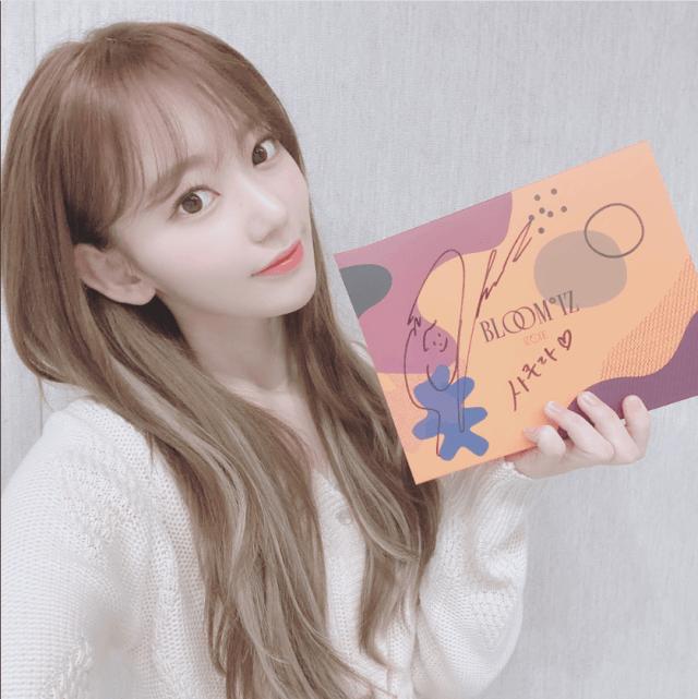 フルアルバムBLOOM IZで韓国でカムバックしたizone宮脇咲良写真