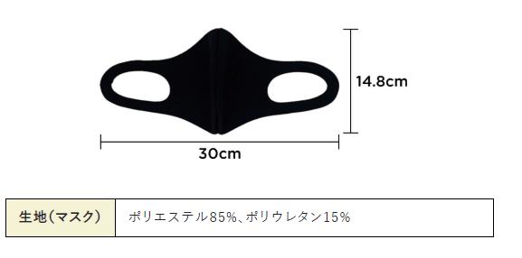 TAKAQマスク大きさ