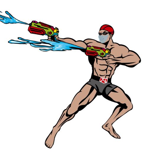 プールマスクマンREDの画像
