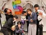 デビュー5周年を祝うiKONメンバー6人