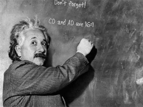 Einstein-CD-AD