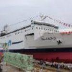 津軽海峡フェリー、新造船「ブルードルフィン」青森港と函館港で見学会開催!