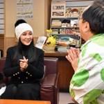 台湾の人気女優 来県 「これからも青森PR」!