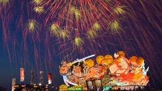「第64回青森花火大会」=東京・秋葉原の「UDXビジョン」に4Kライブ配信!@2018年8月7日