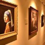 「フェルメールと北斎」の「青」デジタル技術で再現!=「おいらせで複製画展」開催!