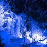 十和田市「冬の奥入瀬氷瀑ナイトツアー」@2019年1月5日~3月17日
