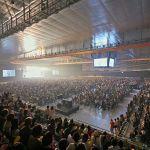 青森「YSアリーナ八戸」屋内スケート場 完成式典が8月24日行われた。