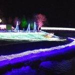 青森県で光のアーチやライトアップした五戸川が幻想的な「しんごうホワイトイルミネーション2019」開催中!