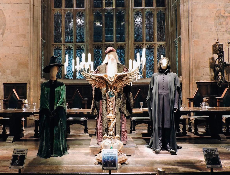 O Salão Comunal em Hogwarts