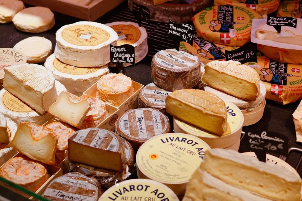 Muitos queijos
