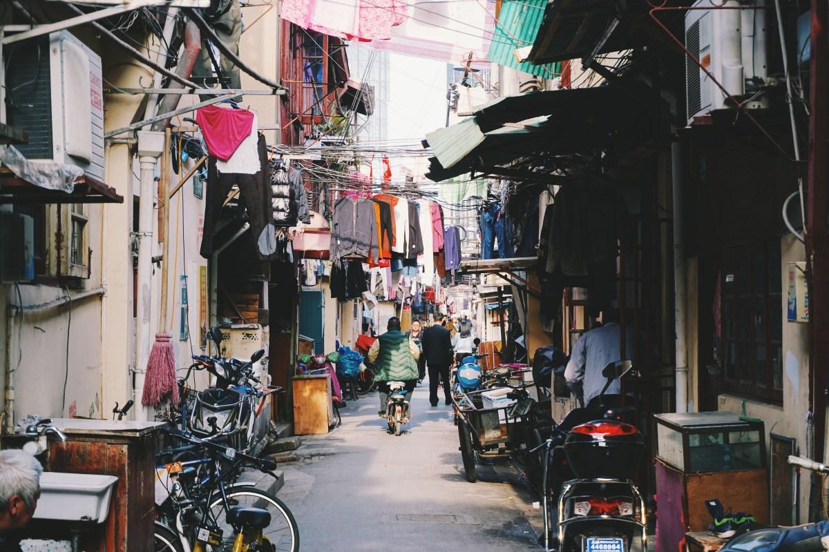 Les vieilles rues de Shanghai