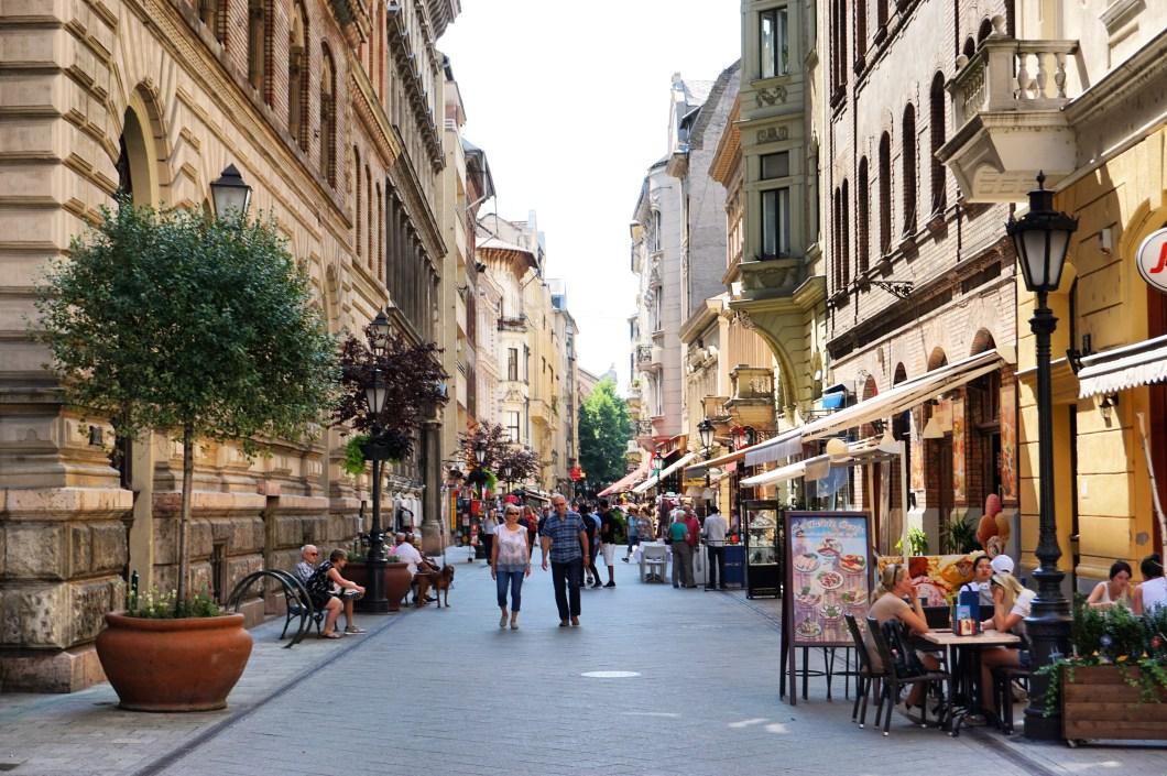 Les plus belles rues de Budapest