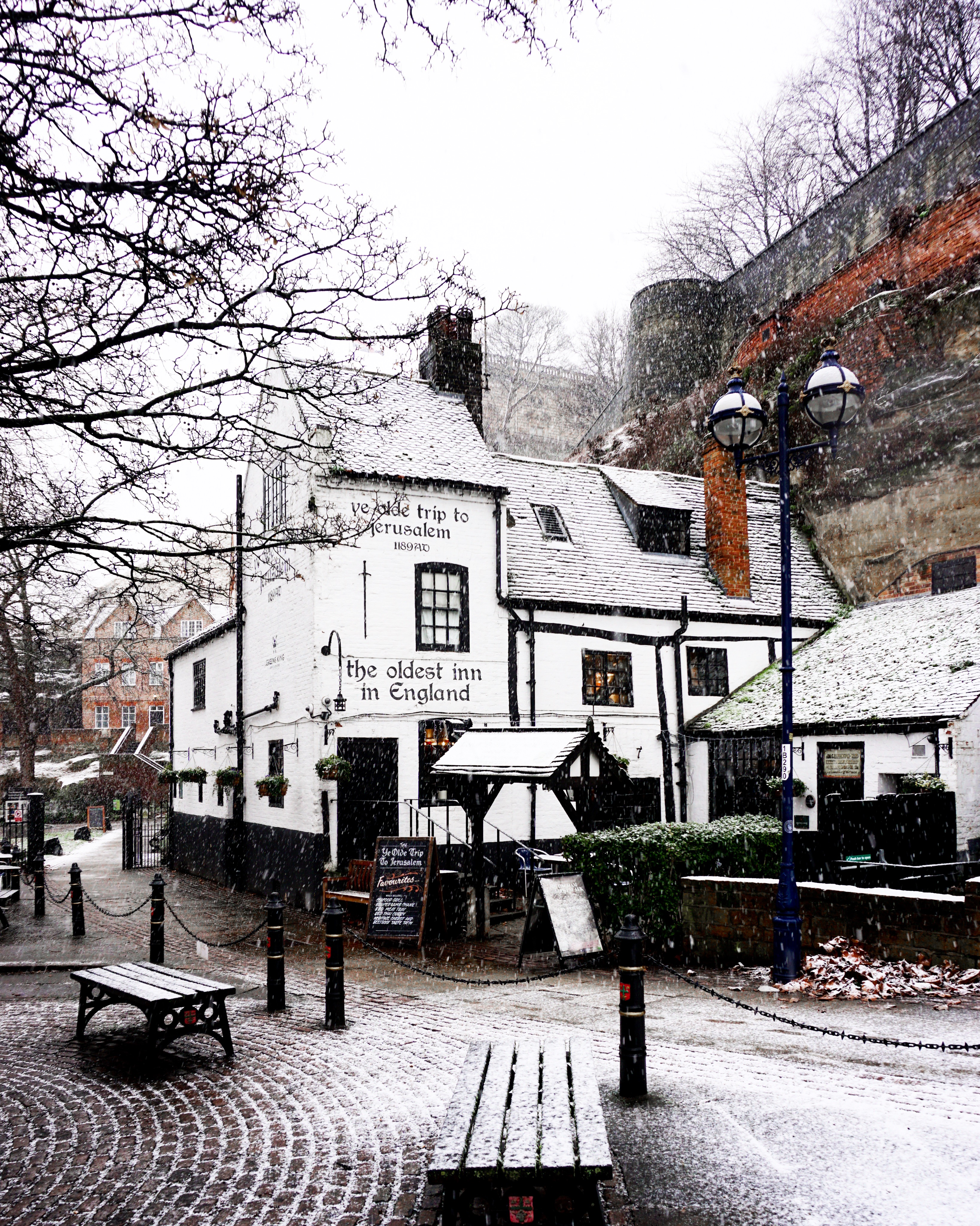 The oldest pub in the UK