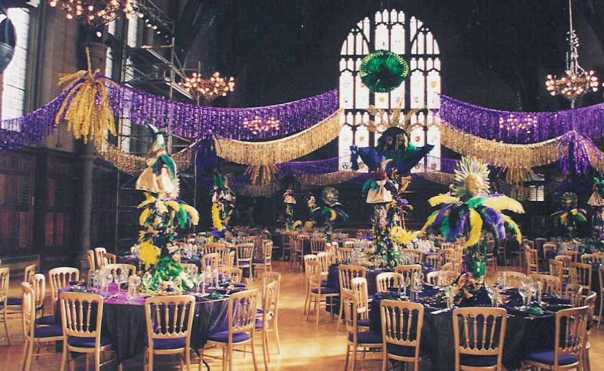 31 Days Of Weddings-Day 20: Mardi Gras Themed
