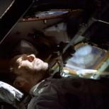 Walter Schirra pictured during Apollo 7 mission.