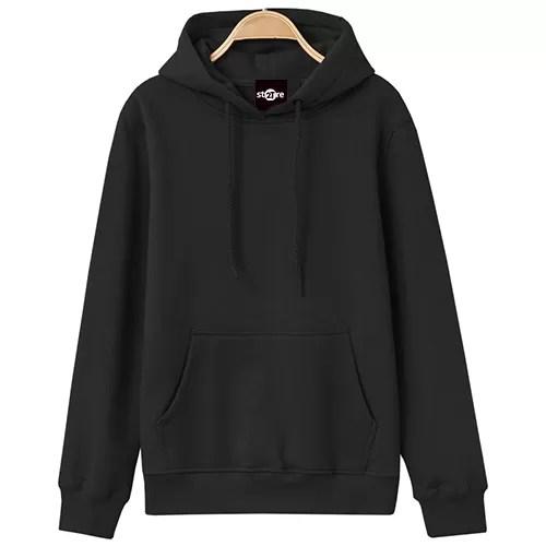ao hoodie mau den