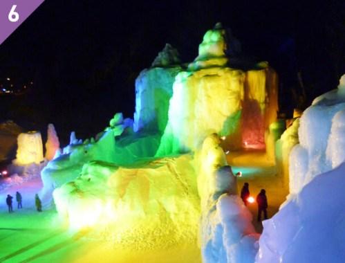 層雲峡温泉の氷瀑まつり2017はいつまで?料金やライトアップの時間は?
