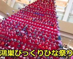 鴻巣(こうのす)びっくりひな祭り2017の開催日時は?駐車場についても!