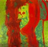 Sascha Hosa, Acryl auf Leinen, 80x80 cm pjörnrachzack
