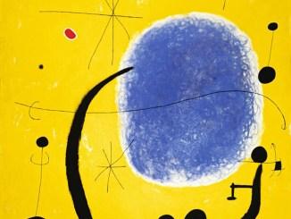 Joan Miró, Das Gold des Azurs, 1967,Fundació Joan Miró, Barcelona © Successió Miró, 2014 Bildrecht, Wien, 2014