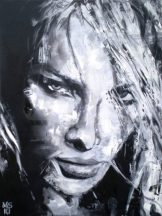 Soho Community of fine art, Martin Georg Sonnleitner, Untiteld woman I, 2010, 80 x 60 cm, Öl-Leinwand, Realism 1, [AOS] Magazine
