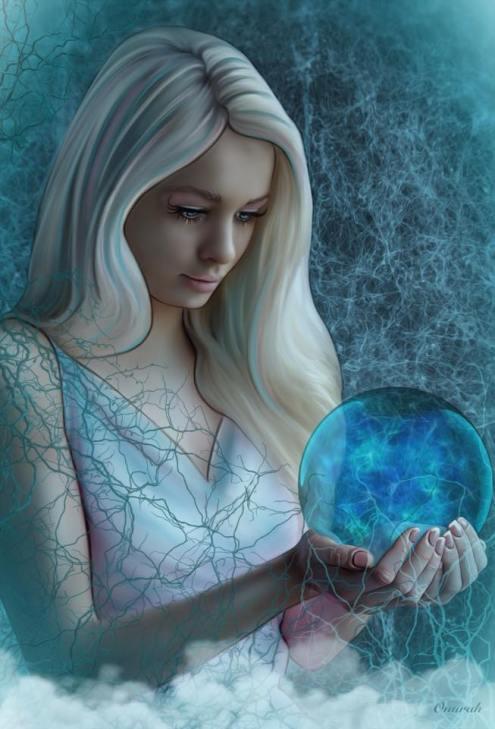 Anna Spiakowska - Onurah: Make a wish, Digital Art, Photo Manipulation, Art On Screen - [AOS] Magazine