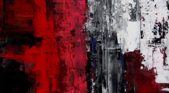 Sascha Weinberg: O. Titel, 50x60,1,8cm, Acryl auf Leinwand, Wischtechnik, 2009 | Art On Screen - [AOS] Magazine