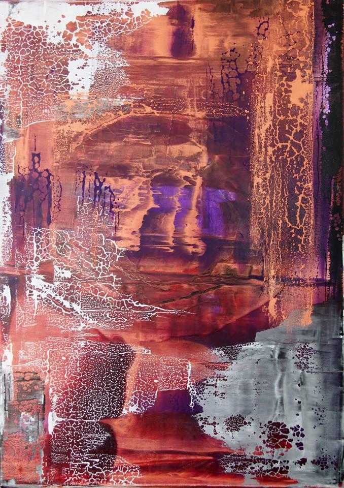 Sascha Weinberg: Fragilitas 2015, 50x70x1,8 cm Mischtechnik   Art On Screen - [AOS] Magazine - NEWS
