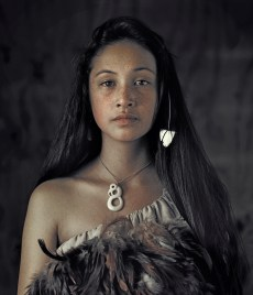 Maori, Rauwhiri Winitana Paki, Taupo Village, North Island New Zealand 2011 © Jimmy Nelson Pictures B.V.